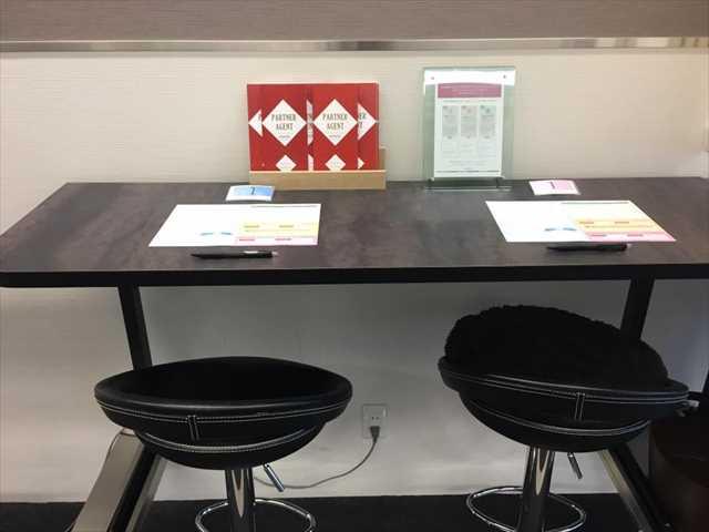 オトコン新宿イベントラウンジの座席