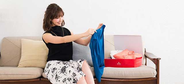 ファッションレンタル サービス「エアークローゼット」のイメージ写真