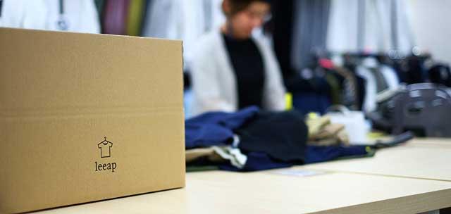 男性専用のファッションレンタルサービス「leeap(リープ)」の紹介画像