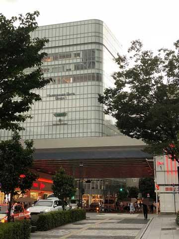 JR有楽町駅から少し歩いた銀座インズ前の写真