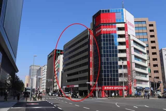 パーティーパーティー名古屋ラウンジ・IBJメンバーズ名古屋店の入る東進名駅ビルの外観写真