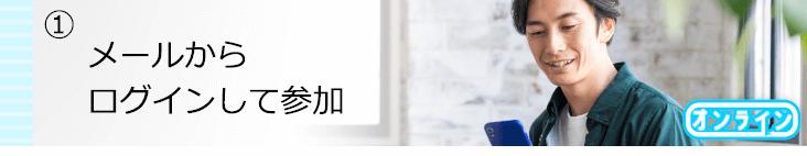 PARTY☆PARTYオンライン婚活パーティー当日の流れ①メールからログインして参加