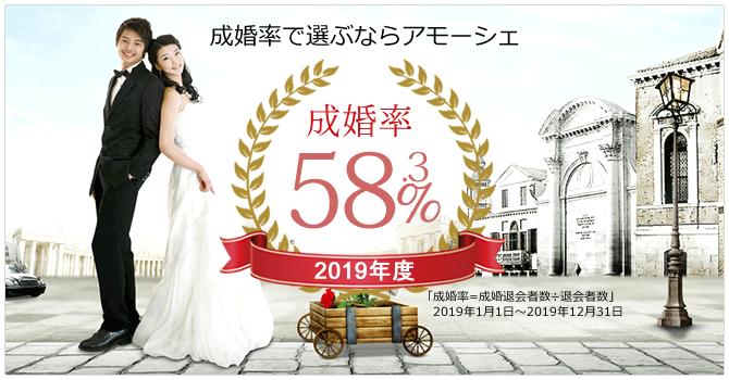 名古屋で12年の実績ある結婚相談所「アモーシェ」の紹介イメージ